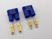 3.5mm Stecker/Buchsen Set vergoldet mit Verpolungsschutz (EC 3)