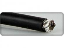 Silikon-Litze 8.3mm²/8AWG, 90cm, schwarz