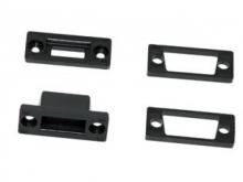 EMCOTEC MPX D-Sub Adapter, 9 polig, schwarz