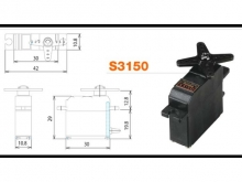 Futaba Servo S3150 - 3.7 kg/cm