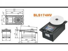 Futaba Servo S.Bus BLS174SV - 9.6 kg*cm