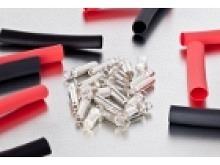 Kontronik Silber Stecksystem 4mm mit Schrumpfschlauch