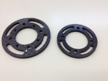 L30/L40 Spant 45mm aus CFK / Carbon Fiber Bulkhead 45mm for L30/L40