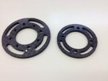 L30/L40 Spant 45mm aus CFK / Carbon Fiber Bulkhead 45mm for L30/L40