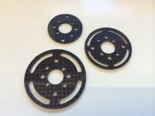 Universal-Spant 45mm aus CFK / Carbon Fiber Bulkhead 45mm