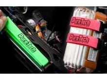 "Pure-Tech Xtreme Strap  4"" neon-gelb (2 Stück)"