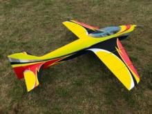 SebArt Wind S 50E gelb/schwarz (1580mm)
