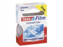 TESA Cristal Clear Scharnierband, 19mm, 33m
