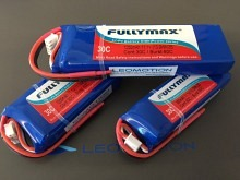 Leomotion LiPo   900mAh 2s1p 30C  - by Fullymax