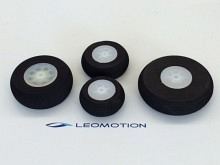 Moosgummi Leichtrad 70mm (2 Stück)