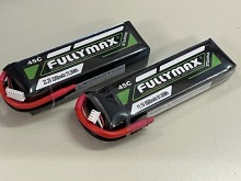 Leomotion LiPo  3700mAh 2s1p 40C  - by Fullymax