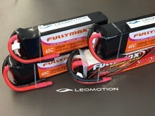 Leomotion LiPo  2600mAh 2s1p 40C  - by Fullymax