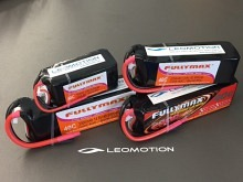 Leomotion LiPo  1300mAh 2s1p 40C  - by Fullymax