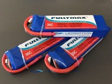 Leomotion LiPo  6250mAh 3s1p 30C  - by Fullymax
