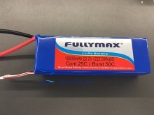 Fullymax LiPo 10000mAh 6s1p 25C  -  UAV