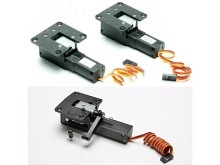 Elektrisches Einziehfahrwerk 3-Bein (nur Mechanik)