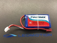 Leomotion LiPo   450mAh 2s1p 30C  - by Fullymax