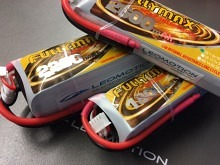 Leomotion LiPo  1800mAh 2s1p 80C  - by Fullymax