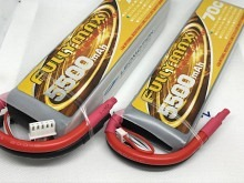 Leomotion LiPo  5500mAh 2s1p 70C  - by Fullymax