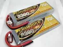 Leomotion LiPo  3300mAh 3s1p 70C  - by Fullymax
