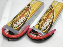 Leomotion LiPo  4400mAh 2s1p 70C  - by Fullymax
