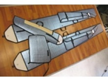 Tangent ASG 29 ARF (600cm)  -  pull-over Flügeltaschen-Set