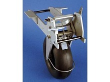 FEMA Einziehfahrwerk für Segler, 112mm Rad mit Bremse