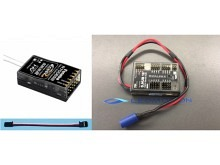 Futaba Empfänger FASST R7006SB + Dualsky S.BUS HUB DUO - 18-Channel