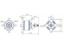 LEO 4114-550 / Dualsky GA800.11