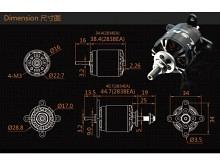 LEO 2320-1250 V3 / Dualsky XM2838EA3-10