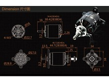 LEO 2320-0860 V3 / Dualsky XM2838EA3-14