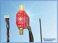SM Modellbau UniLog Strom- und Spannungssensor 400A-6mm