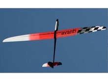 CHOCOFLY Avanti 4.00 CFK grau/orange/schwarz (4000mm) GPS Sport