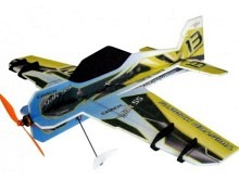 RC-Factory Crack Yak Lite, blau/gelb (800mm)