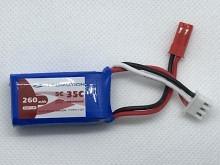 Leomotion/NeuEnergy LiPo  260mAh 2s1p 35C