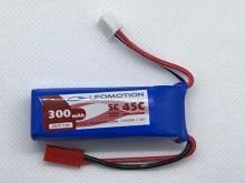 Leomotion/NeuEnergy LiPo  300mAh 2s1p 45C