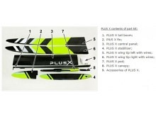PLUS X LIGHT F5J  (3970mm) ab 1050g! mit IDS