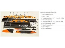 PLUS X/5 LIGHT F5J  (3970mm) ab 1050g! mit IDS