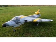 RBC Kits Hawker Hunter 90mm EDF  - Holzbausatz (1125mm)