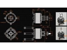 LEO 8030-0140 F3X (V2) / Dualsky GA8000.9 (V2)