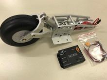 Elektrisches Einziehfahrwerk für Segler bis 8kg, gefedert, Ø100mm