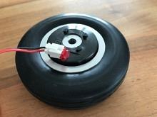 Electron elektro-magnetische Radbremse mit 70mm Rad (1Stk)