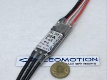 50A - Leomotion LC50 SLIM 2-6s, 7.4V BEC, 22g