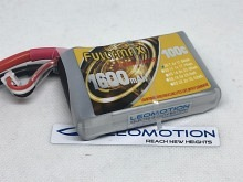 Leomotion LiPo  1600mAh 2s1p 100C  - by Fullymax