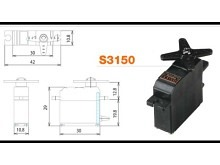Futaba Servo S3150 - 3.7 kg*cm